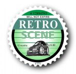 Retro TAX DISC Replacement Design With Koolart Saphire Cosworth External Vinyl Car Sticker 75x75mm